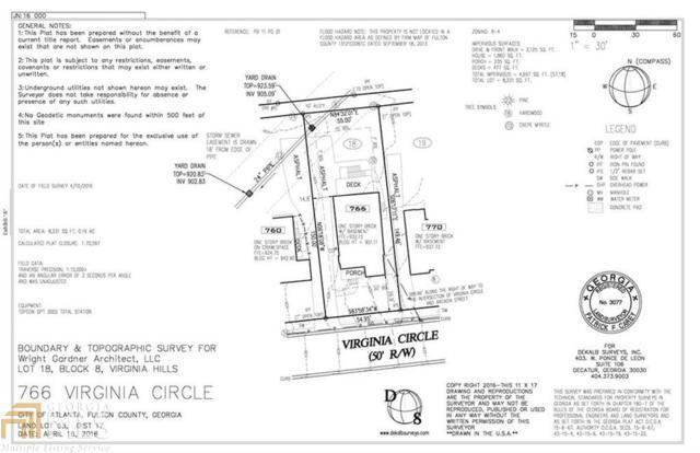 766 Virginia Cir, Atlanta, GA 30306 (MLS #8526547) :: Bonds Realty Group Keller Williams Realty - Atlanta Partners