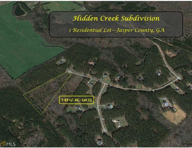 0 Hidden Creek Dr #11, Monticello, GA 31064 (MLS #8528424) :: Team Cozart