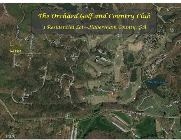 0 Orchard Hills Dr #1533, Clarkesville, GA 30523 (MLS #8532505) :: Bonds Realty Group Keller Williams Realty - Atlanta Partners