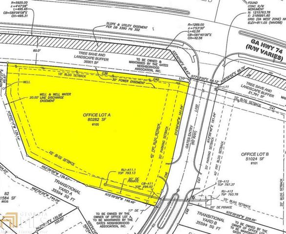 100 Gates Entry A, Peachtree City, GA 30269 (MLS #8554737) :: Rettro Group