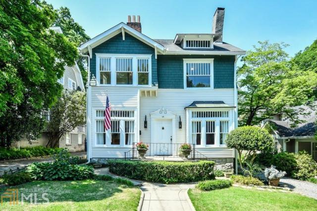 64 The Prado, Atlanta, GA 30309 (MLS #8558842) :: Buffington Real Estate Group