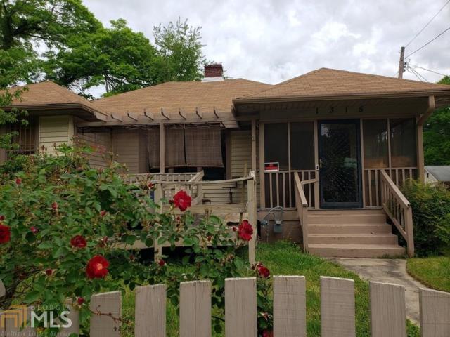 1315 Greenwich Street Sw, Atlanta, GA 30310 (MLS #8566441) :: Buffington Real Estate Group