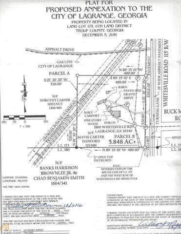 1800 Whitesville, Lagrange, GA 30241 (MLS #8574489) :: Rettro Group