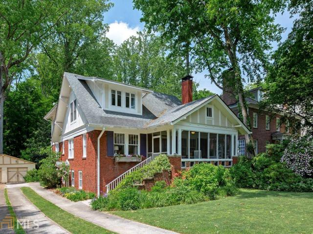 422 Emory Dr, Atlanta, GA 30307 (MLS #8575553) :: Buffington Real Estate Group