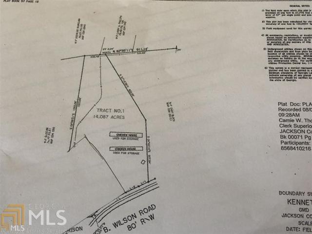 0 B Wilson Rd #1, Commerce, GA 30529 (MLS #8600727) :: Rettro Group