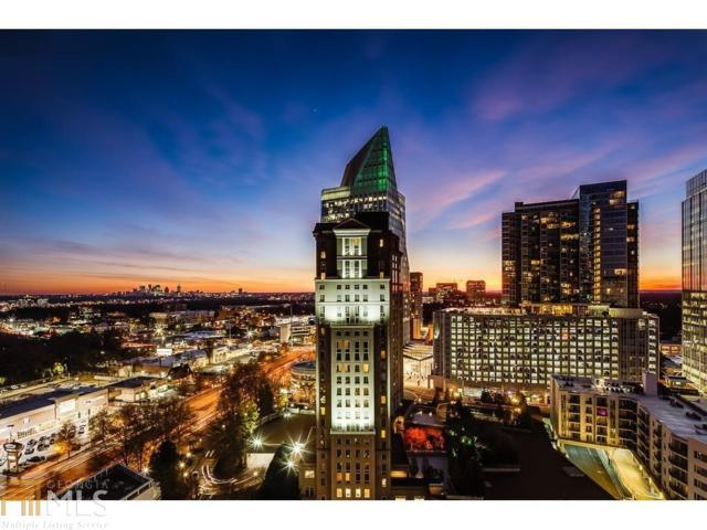 3324 Peachtree Rd #1112, Atlanta, GA 30326 (MLS #8602047) :: The Heyl Group at Keller Williams