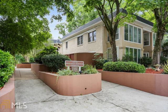 1122 NE Rosedale Dr B3, Atlanta, GA 30306 (MLS #8602767) :: The Heyl Group at Keller Williams