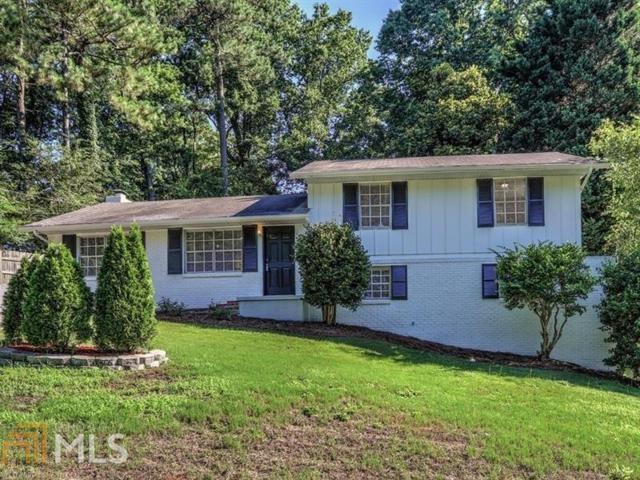2555 Timberly Drive, Marietta, GA 30060 (MLS #8603865) :: The Heyl Group at Keller Williams