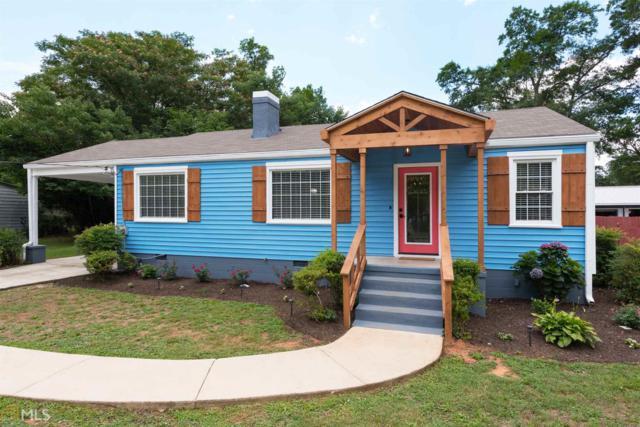 155 Sunset Drive, Athens, GA 30606 (MLS #8609050) :: The Heyl Group at Keller Williams