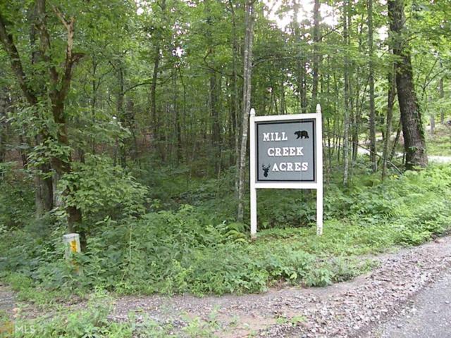 5 Mill Creek Acres, Blue Ridge, GA 30513 (MLS #8611314) :: The Heyl Group at Keller Williams