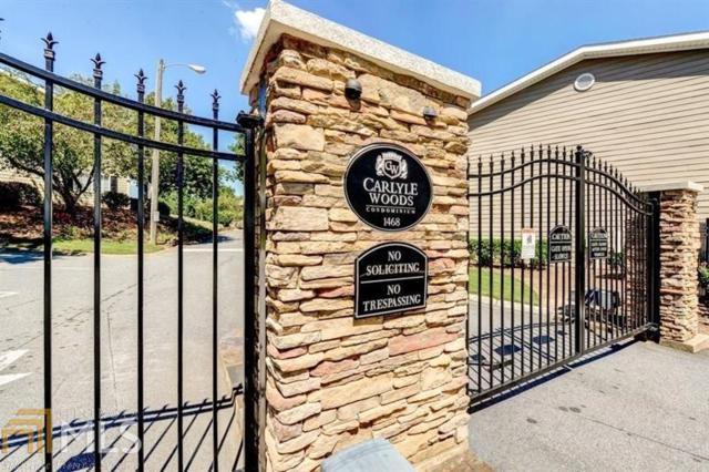 1468 Briarwood Rd #1505, Brookhaven, GA 30319 (MLS #8612534) :: Rettro Group