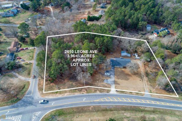 2610 Leone Ave, Loganville, GA 30052 (MLS #8615370) :: The Heyl Group at Keller Williams