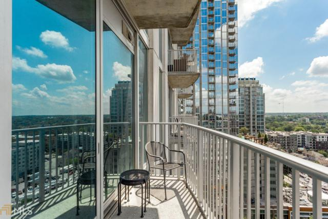 860 NE Peachtree St #1608, Atlanta, GA 30308 (MLS #8619210) :: Rettro Group