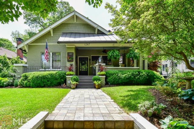 1287 NE Mclendon Ave, Atlanta, GA 30307 (MLS #8625071) :: The Heyl Group at Keller Williams