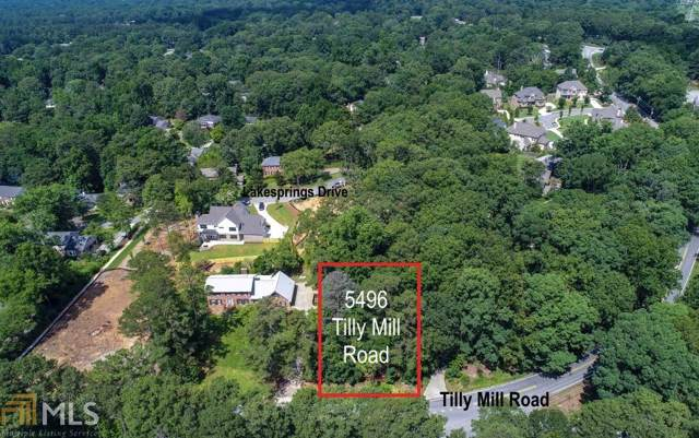 5496 Tilly Mill Rd, Dunwoody, GA 30338 (MLS #8632581) :: RE/MAX Eagle Creek Realty
