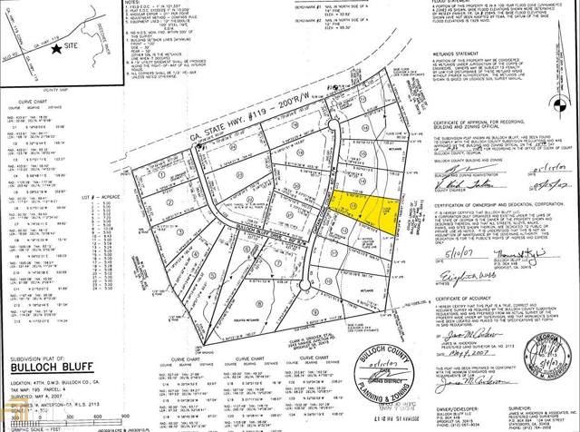 0 Captain Cone Lot#13, Brooklet, GA 30415 (MLS #8634016) :: RE/MAX Eagle Creek Realty
