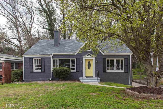 1303 W Fair St, Atlanta, GA 30314 (MLS #8642885) :: Rettro Group