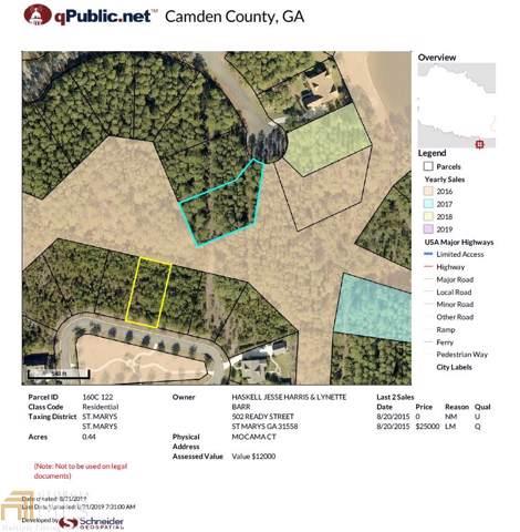 0 Mocama Ct, St. Marys, GA 31558 (MLS #8644267) :: Bonds Realty Group Keller Williams Realty - Atlanta Partners