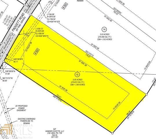 0 Padgett Rd #15, Senoia, GA 30276 (MLS #8651112) :: Rettro Group