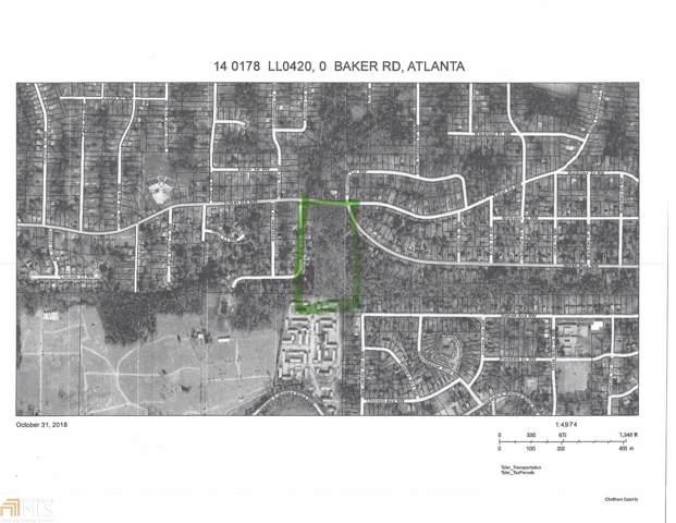 0 NW Baker Rd, Atlanta, GA 30318 (MLS #8657897) :: RE/MAX Eagle Creek Realty