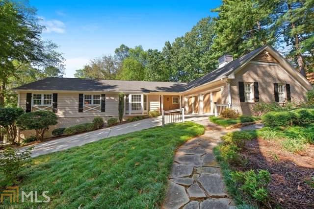 7040 Hunters Branch Drive, Sandy Springs, GA 30328 (MLS #8677018) :: Scott Fine Homes