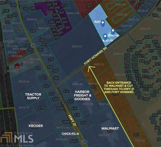 0 Fort Howard Rd, Rincon, GA 31326 (MLS #8686700) :: Bonds Realty Group Keller Williams Realty - Atlanta Partners