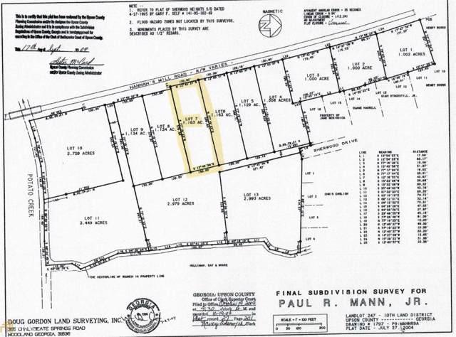 Lot 7 Hannahs Mill Rd #7, Thomaston, GA 30286 (MLS #8692206) :: Bonds Realty Group Keller Williams Realty - Atlanta Partners