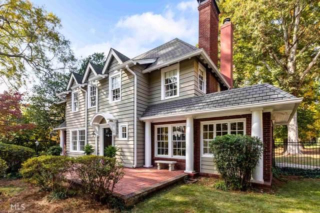 1028 Oxford Rd, Atlanta, GA 30306 (MLS #8693103) :: Buffington Real Estate Group