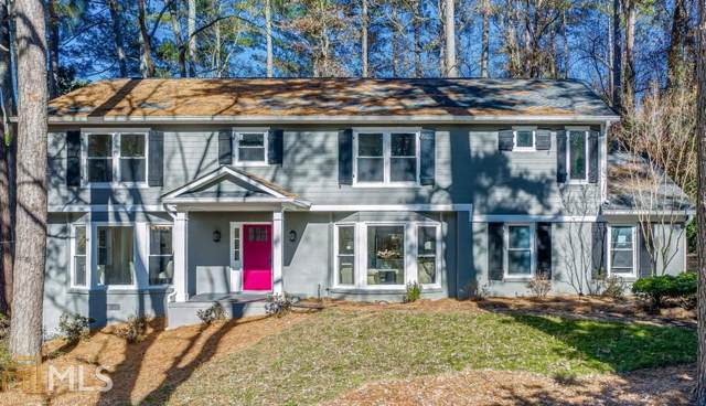 6185 Weatherly Dr, Sandy Springs, GA 30328 (MLS #8700902) :: The Realty Queen Team