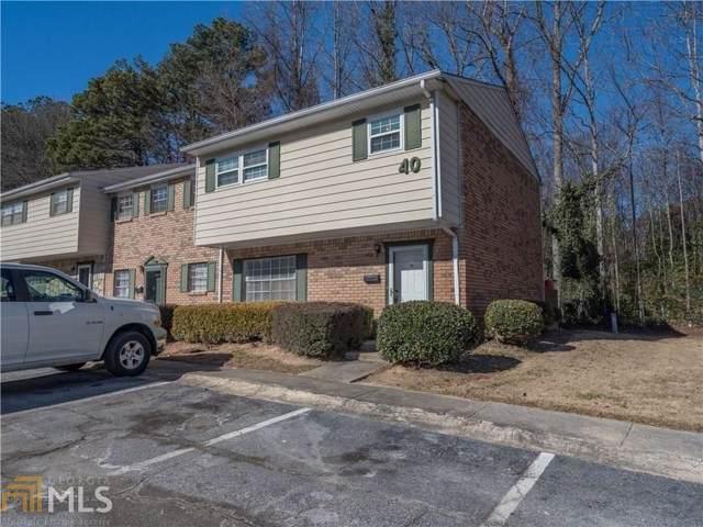 4701 Flat Shoals Rd 40H, Union City, GA 30291 (MLS #8713593) :: Team Cozart