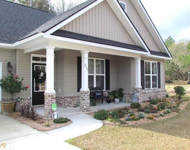 237 Shiloh Dr, Brooklet, GA 30415 (MLS #8719245) :: RE/MAX Eagle Creek Realty