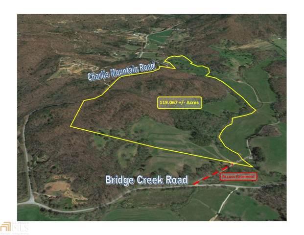 0 Charlie Mountain Rd, Tiger, GA 30576 (MLS #8724344) :: Anita Stephens Realty Group