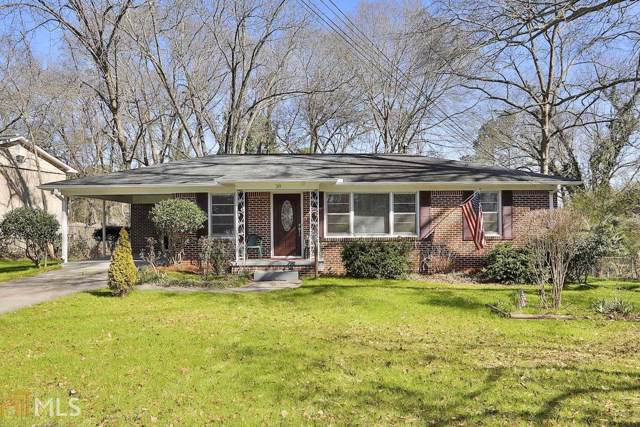 38 South Ave, Fairburn, GA 30213 (MLS #8727142) :: John Foster - Your Community Realtor