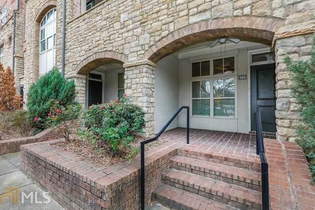 625 Piedmont Ave #105, Atlanta, GA 30308 (MLS #8735893) :: Rich Spaulding