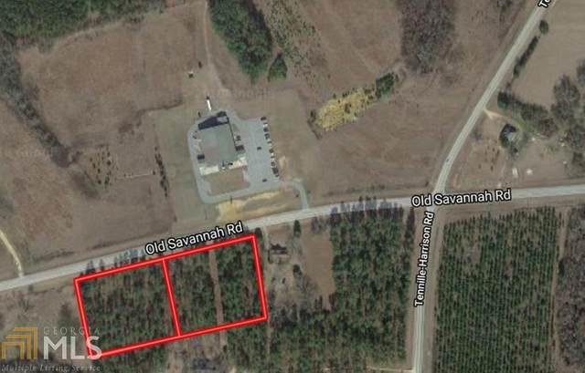 5809 Old Savannah Rd, Tennille, GA 31089 (MLS #8742082) :: Buffington Real Estate Group