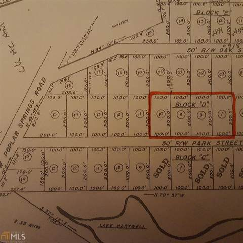 0 Park St 4 Lots, Lavonia, GA 30553 (MLS #8754911) :: Maximum One Greater Atlanta Realtors