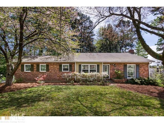 4395 Chateau Ct, Dunwoody, GA 30338 (MLS #8763789) :: Scott Fine Homes