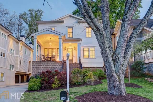 749 Ponce De Leon, Atlanta, GA 30306 (MLS #8766141) :: Buffington Real Estate Group