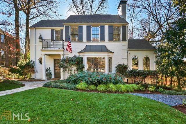 100 26Th St Nw, Atlanta, GA 30309 (MLS #8772330) :: Athens Georgia Homes