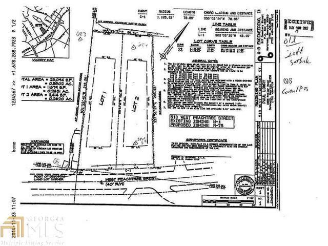 510 W Peachtree St, Norcross, GA 30071 (MLS #8780642) :: The Heyl Group at Keller Williams