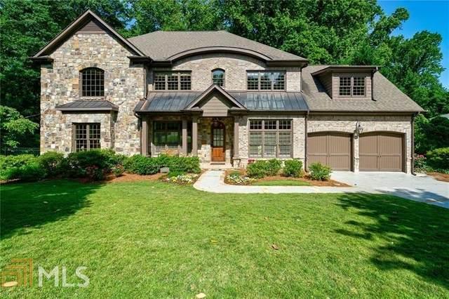 1660 Doncaster Dr, Atlanta, GA 30309 (MLS #8792655) :: Buffington Real Estate Group