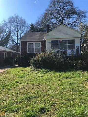 1329 Eason St. Nw, Atlanta, GA 30314 (MLS #8792979) :: Tim Stout and Associates