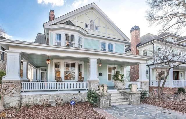 309 10Th St, Atlanta, GA 30309 (MLS #8796581) :: Buffington Real Estate Group