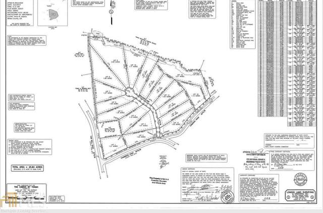 0 Stoneview Lot 8, Cleveland, GA 30528 (MLS #8799202) :: The Durham Team