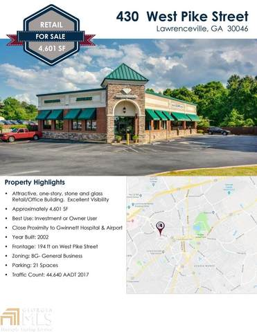 430 W Pike St, Lawrenceville, GA 30046 (MLS #8805211) :: The Heyl Group at Keller Williams