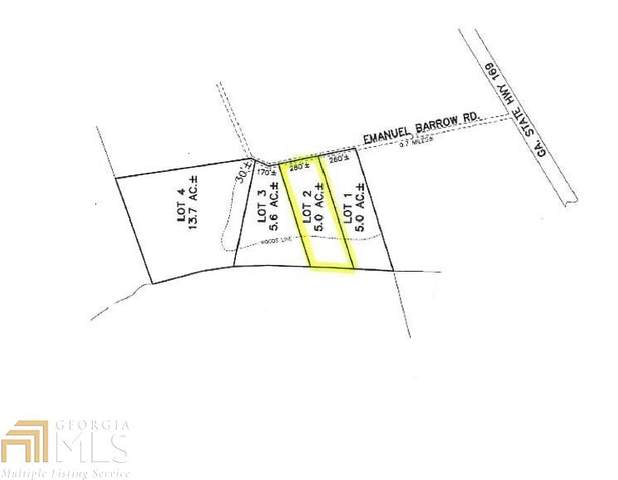 0 Emanuel Barrow Rd Lot 2, Claxton, GA 30417 (MLS #8809933) :: RE/MAX Eagle Creek Realty