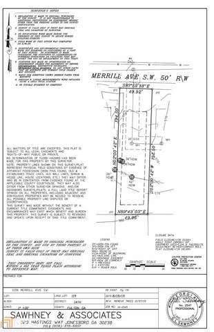 1156 Merrill Ave, Atlanta, GA 30310 (MLS #8813432) :: The Heyl Group at Keller Williams