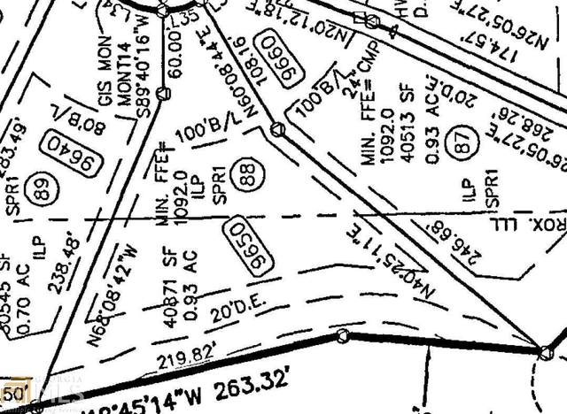 9650 Dunhill Way #88, Cumming, GA 30028 (MLS #8814237) :: The Durham Team
