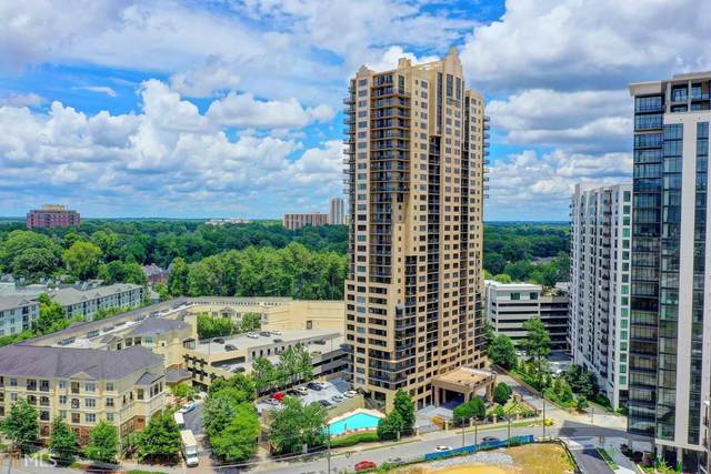 3481 NE Lakeside Dr #2105, Atlanta, GA 30324 (MLS #8818570) :: Rettro Group