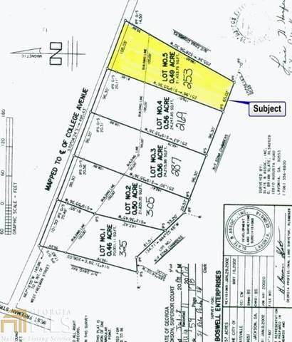 253 College Ave, Maysville, GA 30558 (MLS #8820335) :: Anderson & Associates